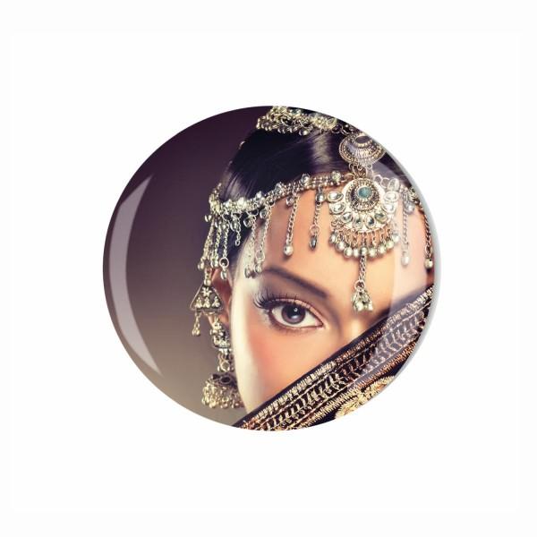Magnet 003 Bestseller ML016 M00009 Indien Bollywood Beauty Motiv 4cm
