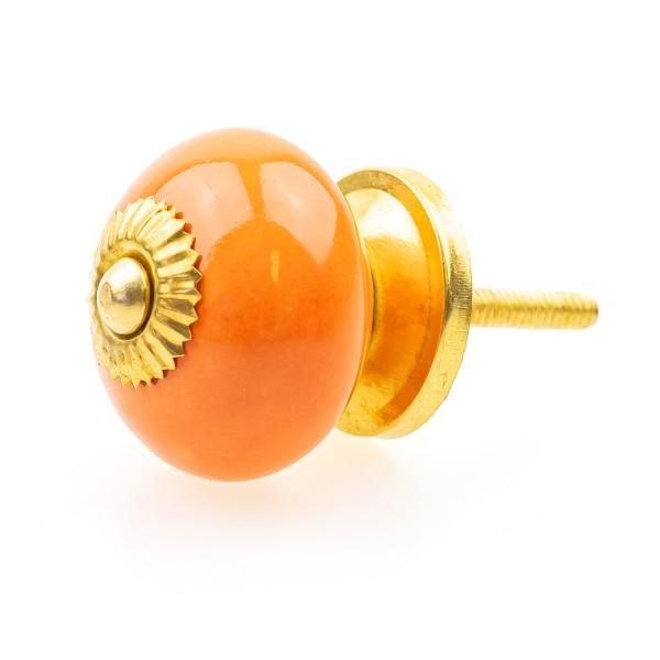 Möbelknopf Möbelknauf Möbelgriff 4013-M orange