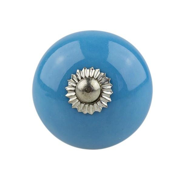 Möbelknopf Möbelknauf Möbelgriff 037GN 4006 blau