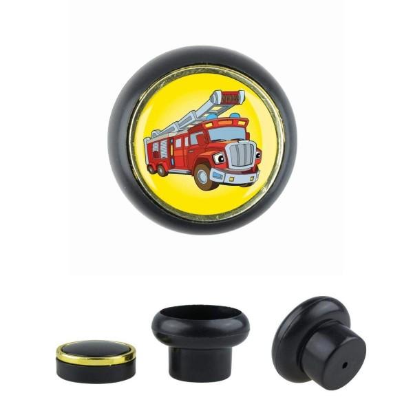 Kunststoff Möbelknopf Klein 002 Bestseller Feuerwehr Auto 002s