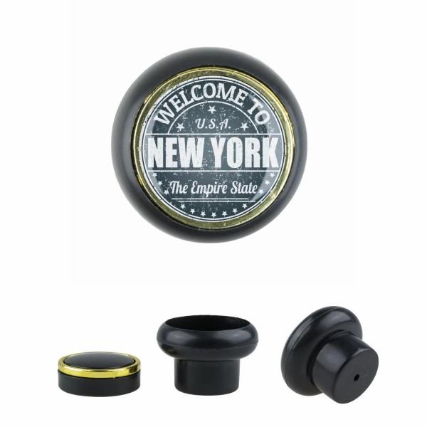 Kunststoff Möbelknopf Klein 023 Bestseller New York grau 023s